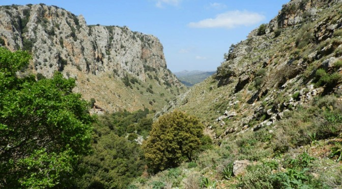 A Climb Up Roza Gorge – Crete