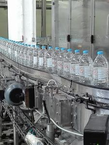 Zaros water bottling plant