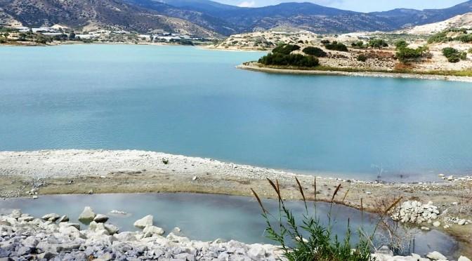 Bramiana Reservoir – circular walk on a dull day.