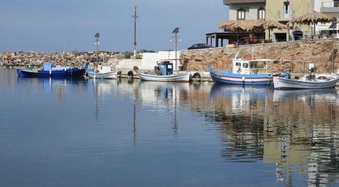 Ruined coastal path between Sisi and Milatos