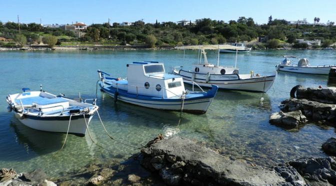 A walk to Agios Nikolaos Bay
